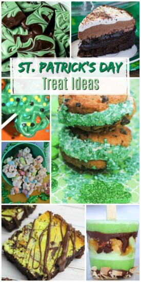 St. Patrick's Day Treat Ideas | Green Treat Ideas | Fun Kid's Activities for St. Patrick's Day | Green Foods | Recipes for St. Patrick's Day | Creative baking treats for St. Patrick's Day | Green Food Dye uses