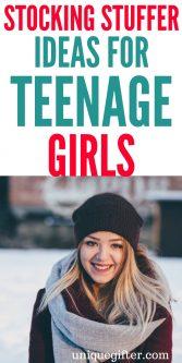50 Stocking Stuffer Ideas for Teenage Girls