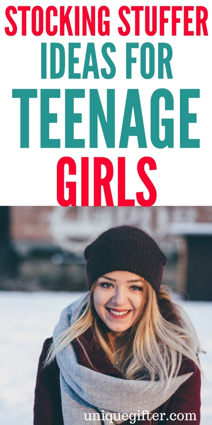 Stocking Stuffer Ideas for Teenage Girls | Fun ways to fill a stocking for my daughter | Gifts for Teens at #Christmas | Fashion gifts for high schoolers | Small Christmas gift ideas for teen girls | #teen #tween #girl #stockingstuffer | Amazing gifts to keep a teenager happy at Christmastime
