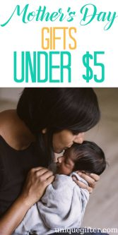 Mother's Day Gifts Under $5