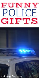 20 Funny Police Gifts