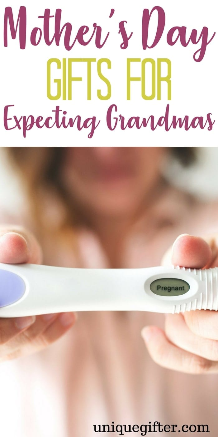 """Mother's Day Gifts for Expecting Grandmas 