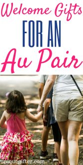Welcome Gifts for an Au Pair