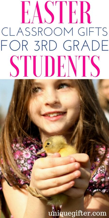 Easter Classroom gifts for 3rd Grade Students