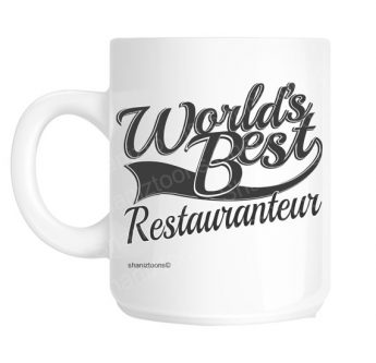 Gifts for restaurant owners let's them know you really think they're the best.