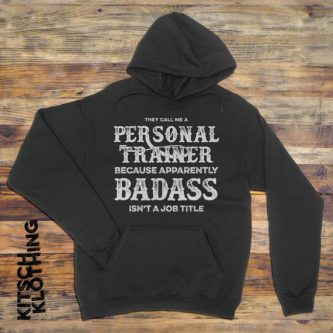 Give your personal trainer this hoodie - gift ideas for a personal trainer