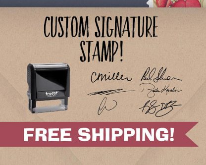 This gifts for restaurant owners helps them sign, seal and deliver.