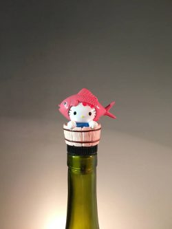 Any adult needs this hello kitty gifts for adults as a wine stopper.