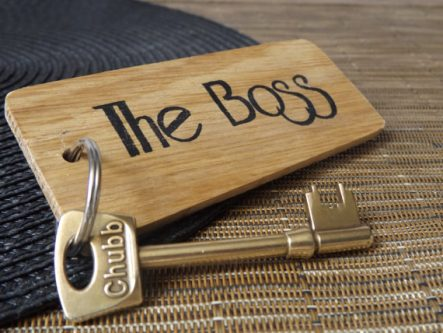 This gifts for restaurant owners reminds others who's the boss.