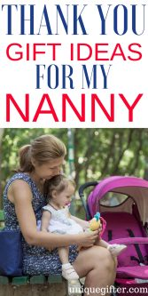 Thank You Gift Ideas For My Nanny