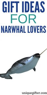 Gift Ideas for Narwhal Lovers   The unicorn of the sea   Birthday presents for my girlfriend   Christmas presents for my boyfriend   Cute baby gifts   Presents for people who like narwhal plushies   Narwhal ring holders   Fun animal gifts   Super creative sea life gifts   #presents #gifts