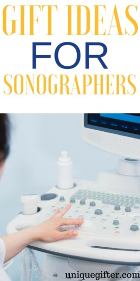 Gift Ideas for Sonographers | Ultrasound technician gifts for employees | Hospital worker gifts | Thank you presents for a sonographer | What to buy an imaging technician | Christmas and Birthday presents for careers #sonographer #ultrasound #thankyou #gifts