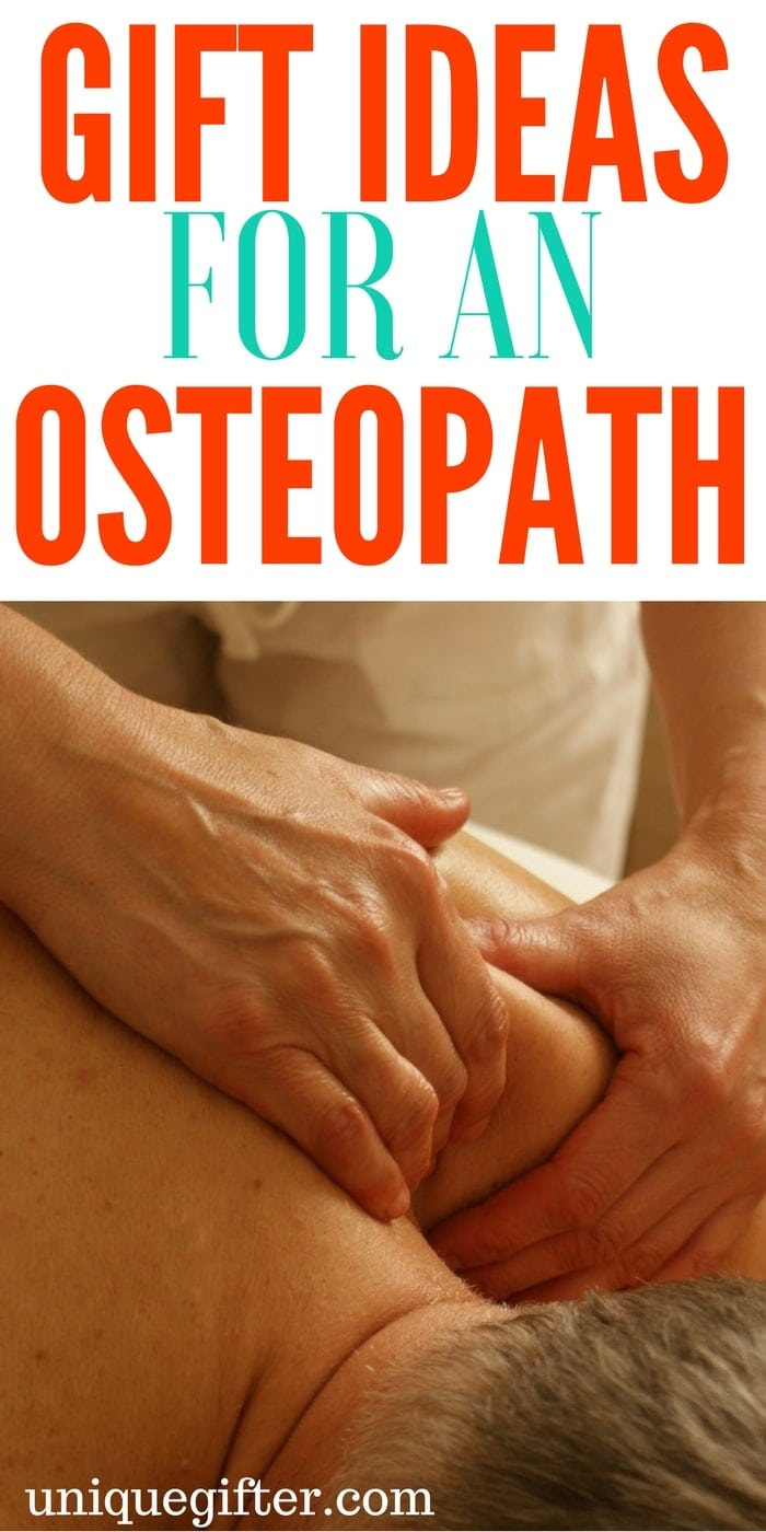 Gift Ideas for Osteopaths | Osteopath gifts for employees | Hospital worker gifts | Thank you presents for an osteopath | What to buy an osteopathic doctor | Christmas and Birthday presents for careers #osteopath #alternativemedicine #thankyou #gifts
