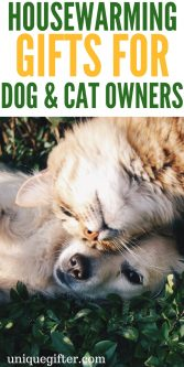 Housewarming Gifts for Dog and Cat Owners