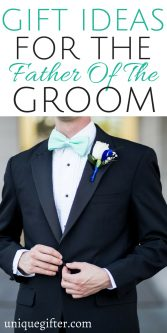 Gift Ideas for the Father of the Groom | Family thank you gifts for weddings | Wedding attendant presents | What to get my Dad when I get married | Walking down the aisle gifts | Fun ways to commemorate my wedding with my Dad | Father's Wedding Gifts | #wedding #weddingtips