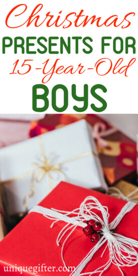Christmas Gifts for a 15 year old boy | 15 year old boy gift ideas | What to buy a 15 year old boy for #Christmas | Unique gifts for a 15 year old boy | What to buy for a 15 year old boy | 15 year old boy gift ideas | clever 15 year old boy gifts | #gifts #holiday #boygifts