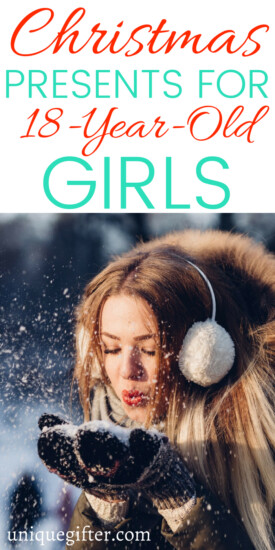 Christmas Gifts for an 18 year old girl | 18 year old girl gift ideas | What to buy an 18 year old girl for #Christmas | Unique gifts for an 18 year old girls | What to buy for an 18 year old girls | 18 year old girl gift ideas | clever 18 year old girl gifts | #gifts #holiday #teengirlgifts