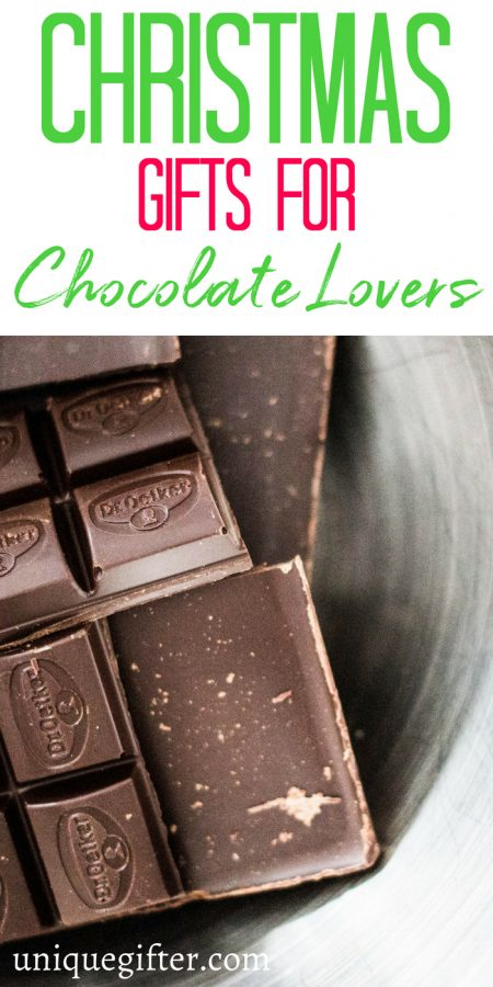 Christmas Gifts for Chocolate Lovers