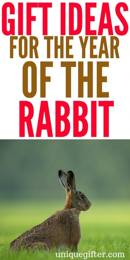 20 Gift Ideas for the Year of the Rabbit
