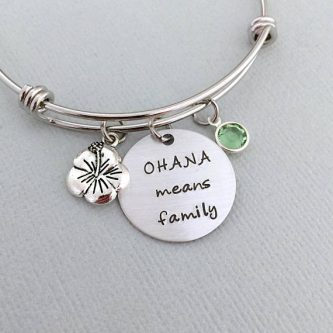Mother's day gifts for sister-in-laws include this adorable bracelet.