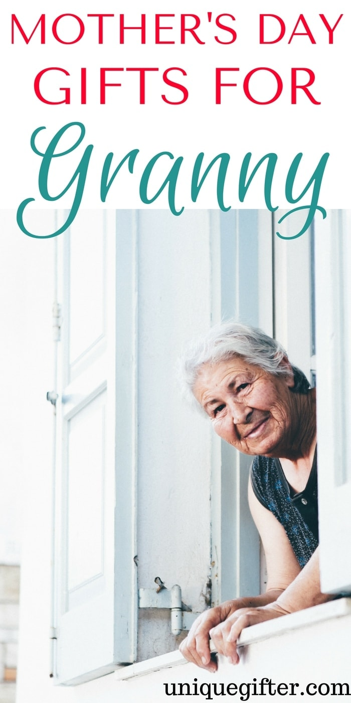 Mother's Day Gifts for Granny | Fun presents to buy my mom from her grandkids | Grandmother Mother's Day Gift Ideas | What to get my mom for her first mother's day as a grandma | Nanny gifts | Presents for my MIL on mother's day
