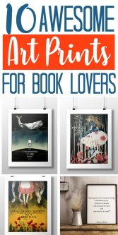 10 Awesome Art Prints for Book Lovers