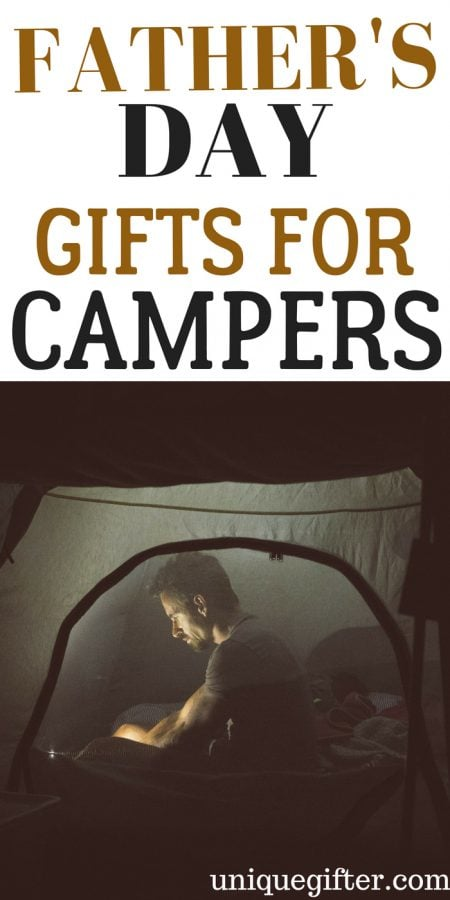 Father's Day Gifts for Campers