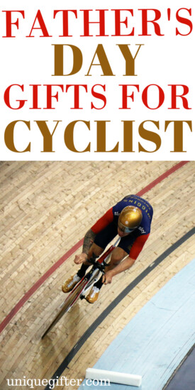 Father's Day Gifts for Cyclists | What to get my dad for Father's day when he loves to bike | Biking gifts for men | The best birthday and Christmas presents for my husband who loves cycling | Road and mountain biker gifts | Fun bike accessory ideas | presents for bikes