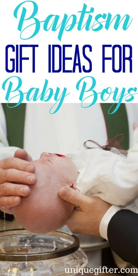 Baptism Gift Ideas for Baby Boys