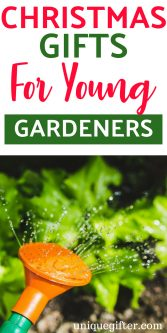 Christmas Gifts for Young Gardeners | What to buy for a young gardener | Holiday presents for a young child who gardens | Gardener Gifts for Kids | Young Gardener Creative Gifts | Special Gifts to Buy a Young Gardener for the Holidays | #Christmas #gardening #KidGift