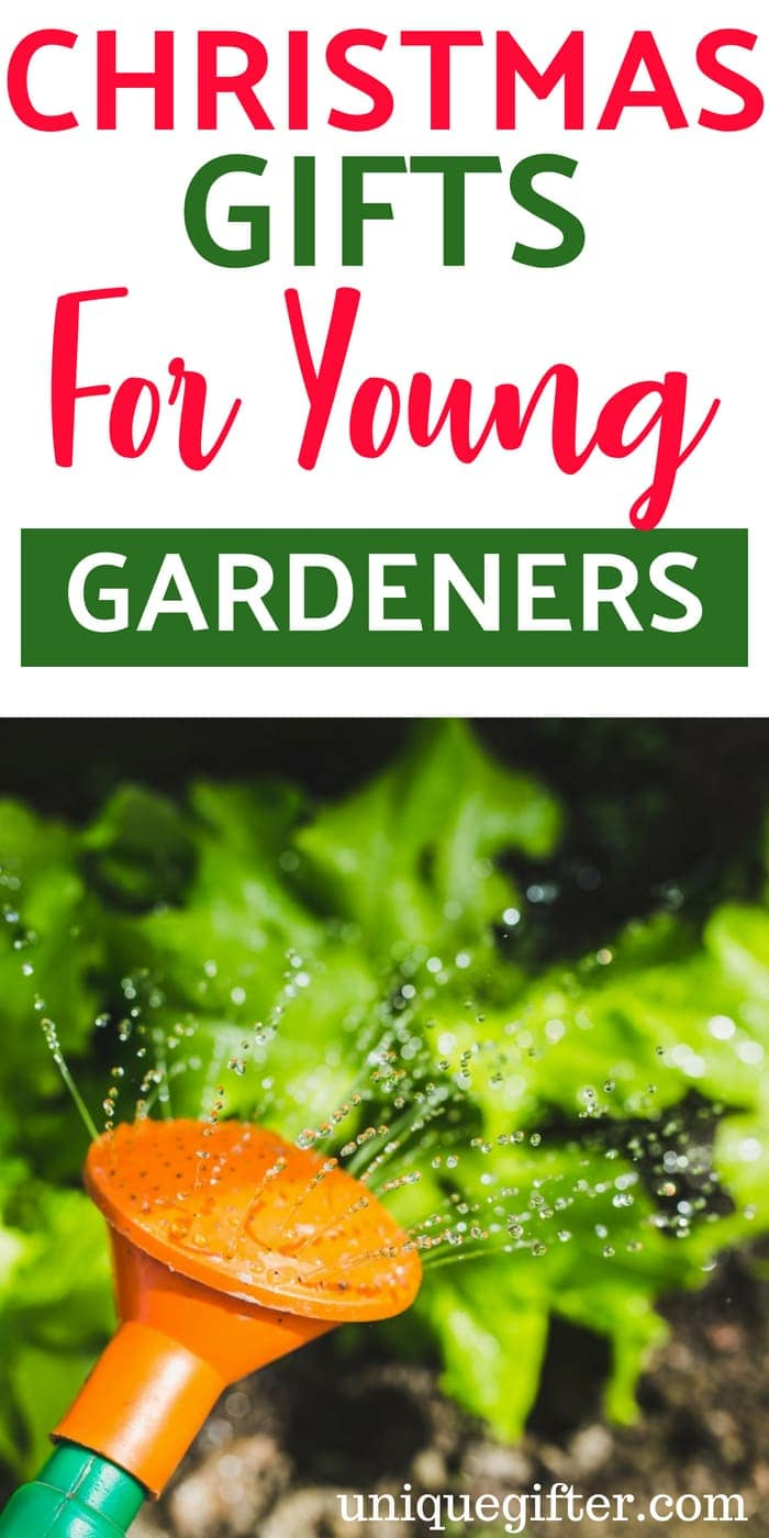 Christmas Gifts for Young Gardeners   What to buy for a young gardener   Holiday presents for a young child who gardens   Gardener Gifts for Kids   Young Gardener Creative Gifts   Special Gifts to Buy a Young Gardener for the Holidays   #Christmas #gardening #KidGift