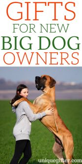 Gifts for new big-dog owners   Best New Big Dog Owner Gift Ideas   Entertaining Gifts for A New Big Dog Owners   Dog Owner Gifts   Presents for Someone Who Owns a New Big Dog   Large Dog Breed Gift ideas   Presents to Keep Large Dogs Busy   #bigdogs #gifts #petlover