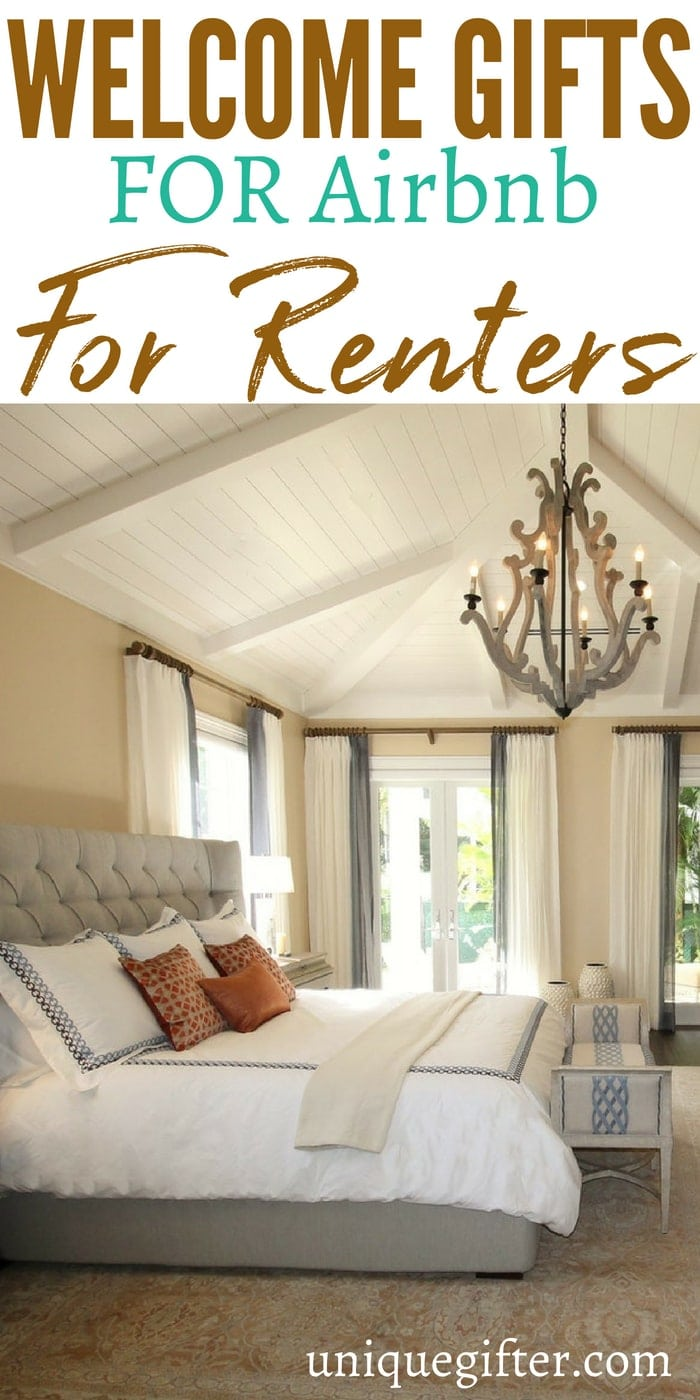 Welcome Gifts for Airbnb Renters | What to buy for a welcome gift for an Airbnb Renter | Airbnb Renters Gift Ideas | Presents for an Airbnb Renter | Special welcome gifts for an Airbnb Renter | Travel gifts ideas | #airbnb #welcomegift #present