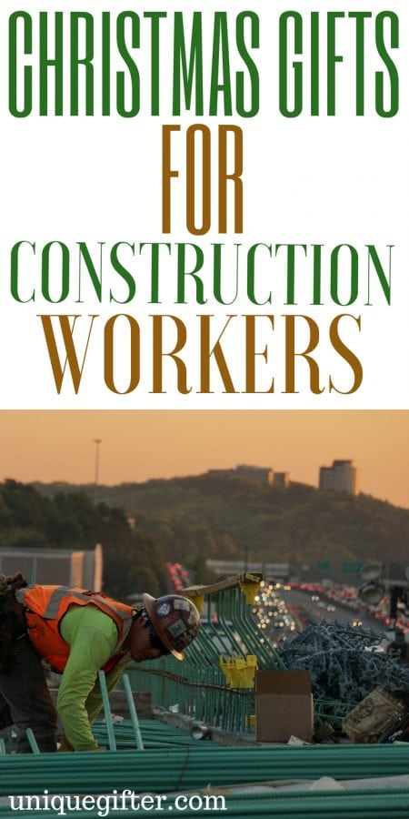 20 Christmas Gifts for Construction Workers