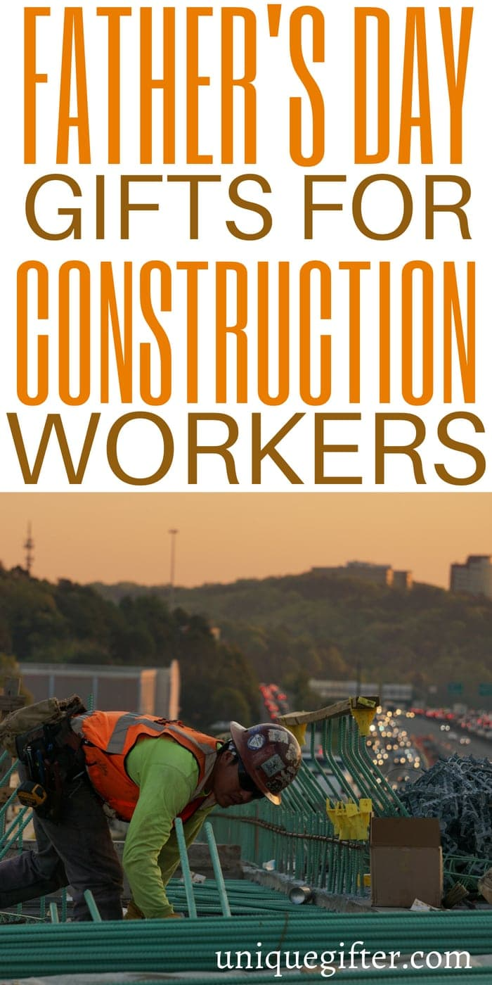 Father's Day Gifts for Construction Workers   What to buy my Dad for father's day   Gift ideas for carpenters   Creative gifts for equipment lovers   What to buy my road crew husband for Father's Day   Fun Gifts for Dads   #fathersday #gifts #dad