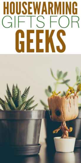 Housewarming Gifts for Geeks | Nerdy Home Decor | Fun gifts to get friends who moved | Moving in together gifts | Creative gifts for a new house | Housewarming party gifts | Presents for my nerd friends #housewarming #gifts