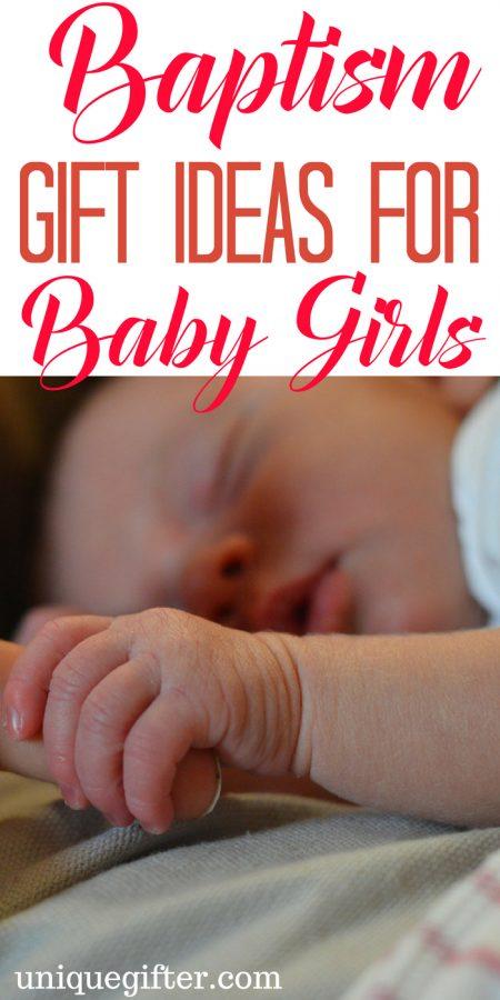 Baptism Gift Ideas for Baby Girls