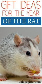 Gift Ideas for the Year of the Rat | Chinese New Year Gift Ideas | Red Envelope Inspiration | Lunar New Years Gifts | Asian New Year Celebration Gifts | Fun New Year's Gift Inspiration | Birthday presents by Chinese Zodiac #zodiac #lunarnewyear #newyears #rat