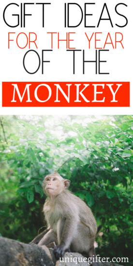 Gift Ideas for the Year of the Monkey | Chinese New Year Gift Ideas | Red Envelope Inspiration | Lunar New Years Gifts | Asian New Year Celebration Gifts | Fun New Year's Gift Inspiration | Birthday presents by Chinese Zodiac #zodiac #lunarnewyear #newyears #monkey