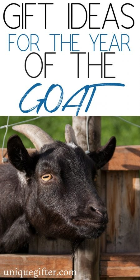 20 Gift Ideas for the Year of the Goat