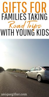Gifts For Families Taking Road Trips With Young Kids