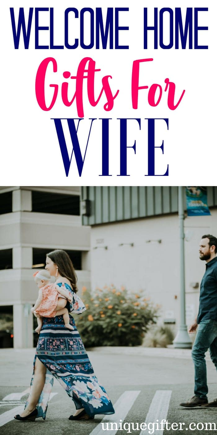 Welcome home Gifts for a wife | What to buy for a welcome gift for a wife | Wife Gift Ideas | Presents for a welcome home for her | Special welcome gifts for the wife | Travel gifts ideas | #giftsforher #welcomegift #present