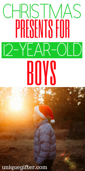 Christmas Presents for 12 Year Old Boys | 12 Year Old Boys gift ideas | What to buy a 12 Year Old Boy for #Christmas | Classroom gifts for a 12 Year Old Boy | Unique gifts for 12 Year Old Boys | What to buy for a 12 Year Old Boy for birthday | 12 Year Old Boy gift ideas | clever 12 Year Old Boys gifts | #gifts #holiday #boygifts