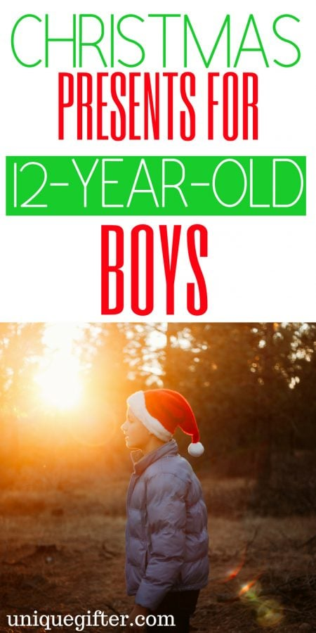 20 Christmas Presents for 12 Year Old Boys
