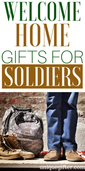 Memorable Welcome Home Gifts for a Soldier | Welcome Home Soldier Gifts | Presents to Welcome home a soldier | Patriotic Gift ideas | What to buy a soldier who served | Christmas Gifts for a Soldier | Thank you gifts for a soldier | #soldier #giftideas #presents