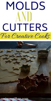 Molds and Cutters for Creative Cooks Gift Ideas | What to Buy for a Cook | Creative Cook Presents | #Christmas Molds and Cutters for Creative Cooks | Epic Molds and Cutters Gifts | What to Buy for Someone Who Bakes A Lot | #gift #holiday #cookiecutter