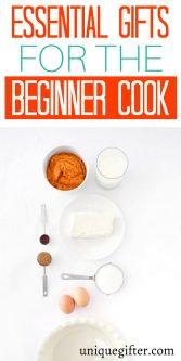 Essential Gifts for the Beginner Cook | What type of gift to buy a new cook | Beginner Cook Present Ideas | Special Gifts To Buy For A new Cook | Useful Presents for a Beginner Cook | Kitchen Gadget Gifts | Kitchen Essential Gift Ideas | #newcook #gift #kitchenessentials