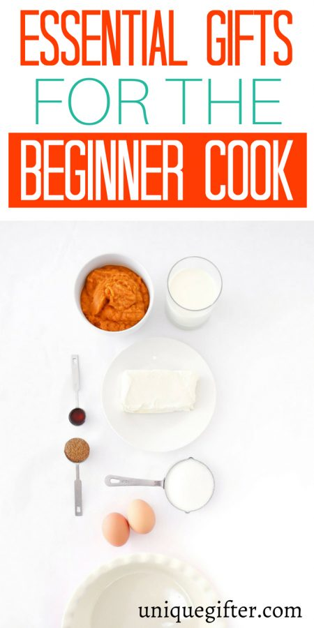 Essential Gifts for the Beginner Cook
