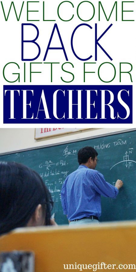 20 Welcome Back Gifts for Teachers