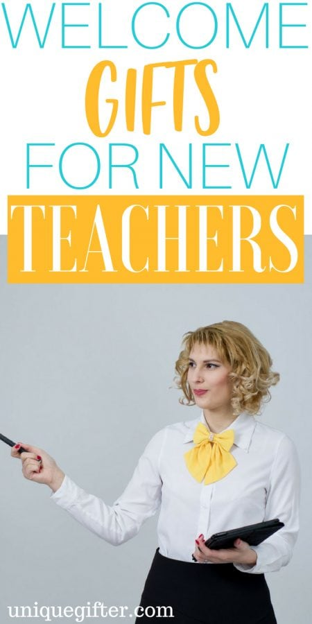 20 Welcome Gifts for New Teachers